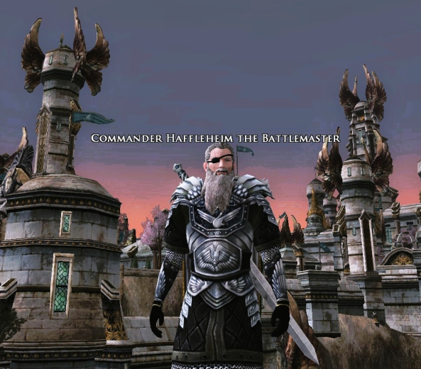 Commander Haffleheim