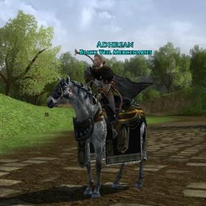 Prized Isengard War Horse
