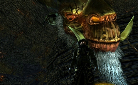 I've seen a lot of LOTRO selfies lately. Here's mine.