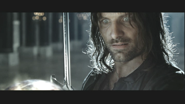 Aragorn reacts