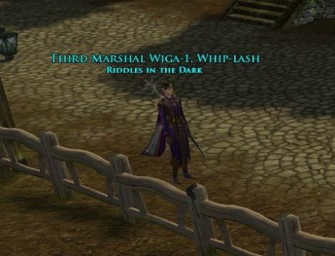Congratulations Third Marshal Wiga
