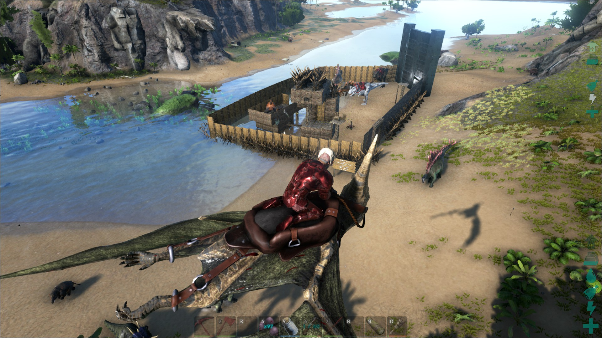 Ark Cant Build On Top Of A Gate