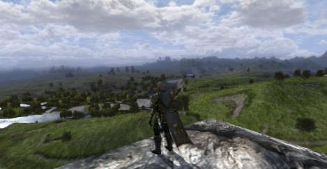 First screenshot on my new gaming rig, April 2015. Got my Burglar into Rohan and absent-mindedley took a screenshot up here. Turned out to be a beauty.